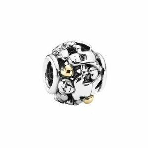 Pandora Family Forever Charm with 14k Gold